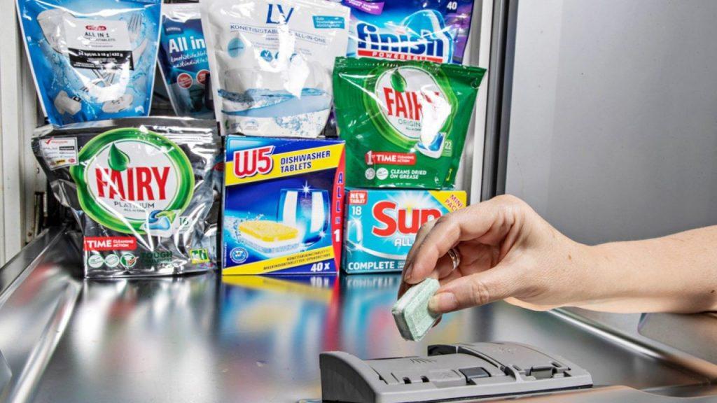 انواع قرص ماشین ظرفشویی
