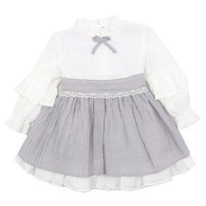 نمونه ای از پیراهن دخترانه موجود در محصولات نی نی بازار