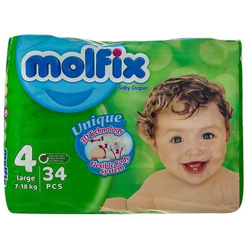 پوشک مولفیکس را بهترین قیمت از نی نی بازار بخرید.