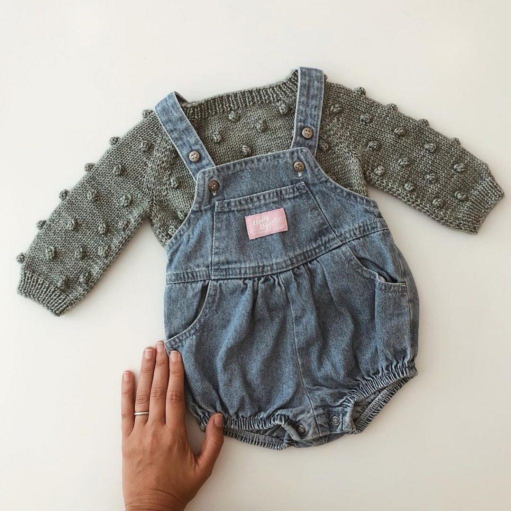 مجموعه لباس زمستانی نوزاد جذاب نی نی بازار