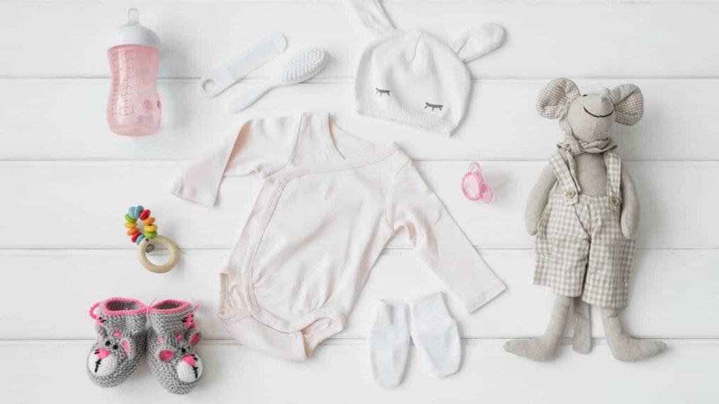 انواع لباس نوزادی آشور
