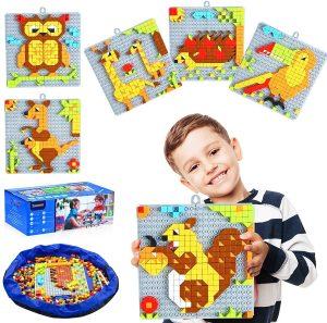انواع پازل و اسباب بازی ساخت و ساز را از نی نی بازار بخرید.