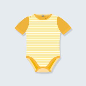 بادی آستین کوتاه نوزاد