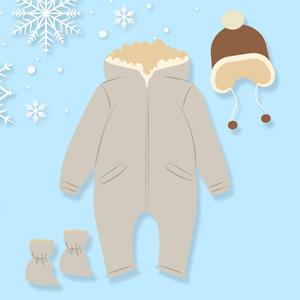 لباس زمستانی نوزاد