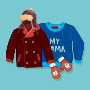 لباس زمستانی پسرانه