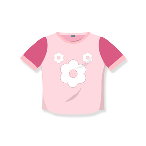 تی شرت آستین کوتاه دخترانه