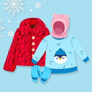 لباس زمستانی دخترانه
