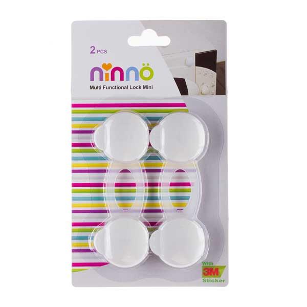 قفل چند منظوره نینو مدل دکمه ای