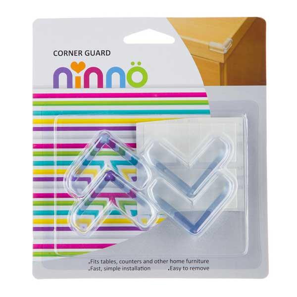 محافظ گوشه شفاف نینو بسته ۴ عددی