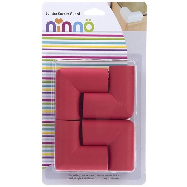 محافظ گوشه نینو مدل جامبو سایز بزرگ بسته ۴ عددی