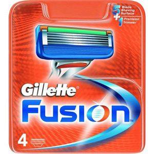 تیغ یدک ۴ عددی ژیلت مدل Fusion