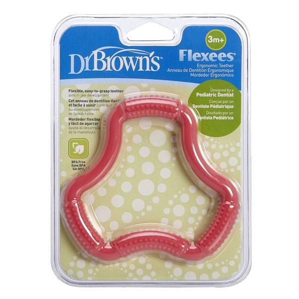 دندان گیر ژله ای دخترانه دکتر براون