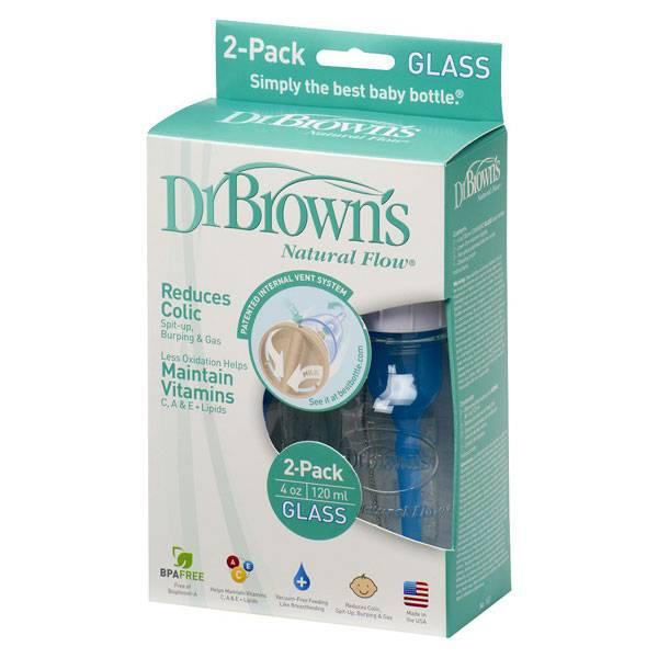 نوار بهداشتی مردانه شیشه شیر پیرکس دکتر براون ۱۲۰ میلیلیتر بسته 2 عددی ...