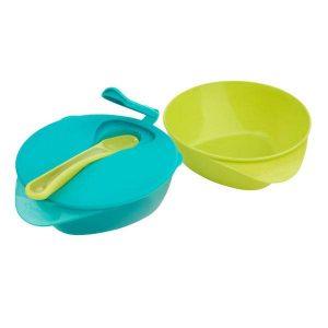 ست ظرف غذای کودک سبز آبی تامی تیپی Tommee Tippee