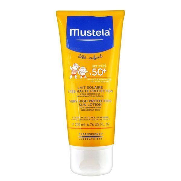 لوسیون ضد آفتاب موستلا با قدرت پوشانندگی بسیار بالا 200 میل