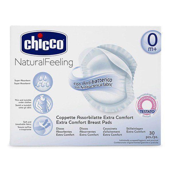 پد سینه چیکو (Chicco) بسته 30 عددی