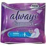 نوار بهداشتی خیلی بزرگ always قطر نازک Diamond