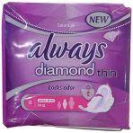 نوار بهداشتی بزرگ always قطر نازک مدل Diamond