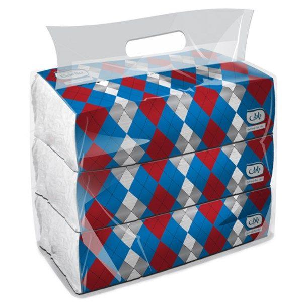 دستمال کاغذی بارلی مدل سافت پک بسته 600 برگی دولا