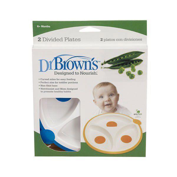 ظرف غذا خوری دکتر براون بسته 2 عددی