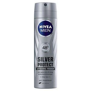 اسپری پودری ضد تعریق مردانه نیوآ مدل Silver Protect