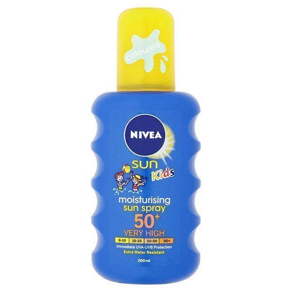 اسپری ضد آفتاب کودکان نیوا با قدرت پوشانندگی بالا