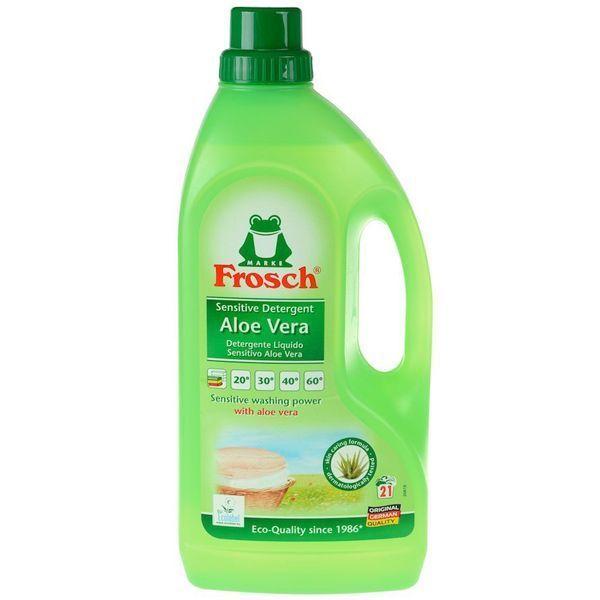 مایع لباسشویی حساس آلمانی آلوئه ورا Frosch