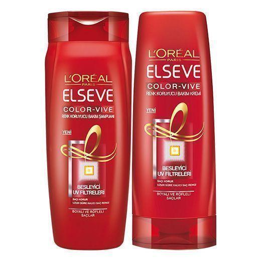 پک شامپو و نرم کننده تثبیت کننده رنگ مو لورآل