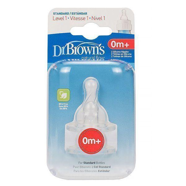 سرشیشه دکتر براون +0 ماهگی مخصوص شیشه معمولی