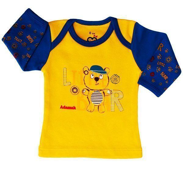 تی شرت اسپرت آستین بلند آدمک طرح خرس کوچولو