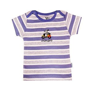 تی شرت پسرانه آستین کوتاه پاریز (Pariz) طرح هاپو