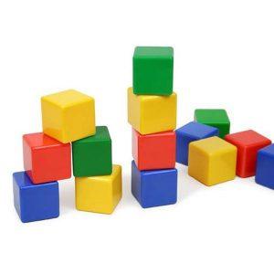 اسباب بازی مکعبهای رنگی