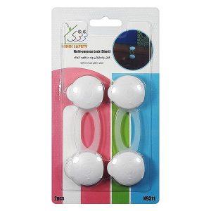 قفل چند منظوره نی نیک مدل دکمه ای سایز کوچک