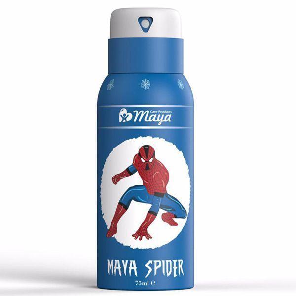 اسپری بدن کودک مایا (Maya) مدل Spider Man