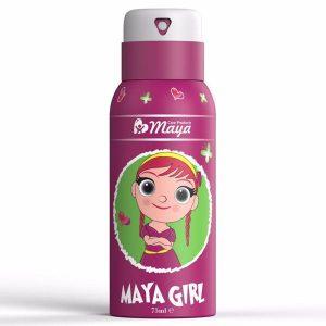 اسپری بدن کودک مایا (Maya) مدل Girl