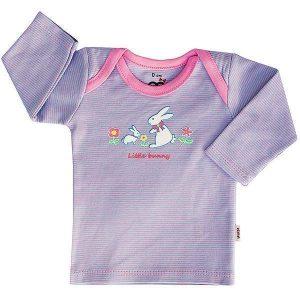 تی شرت دخترانه آستین بلند آدمک طرح خرگوش کوچولو