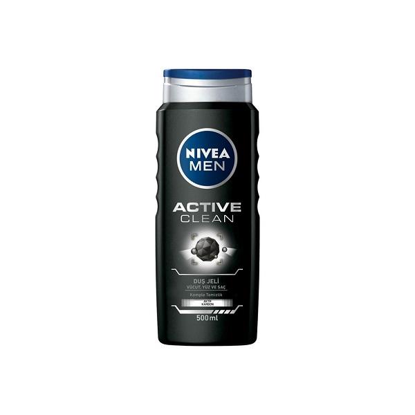 شامپو سر و بدن نیوا (Nivea) مدل Active Clean
