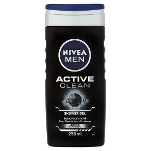 شامپو بدن نیوآ (Nivea) مدل Active Clean