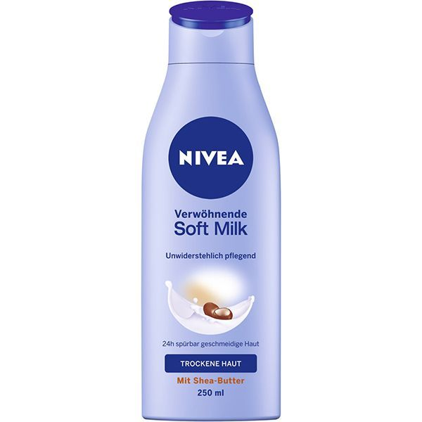 لوسیون بدن پوست خشک و حساس نیوا مدل Soft Milk