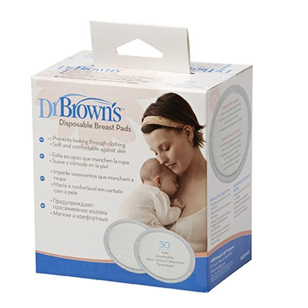 پد سینه ضد حساسیت دکتر براون بسته 30 عددی