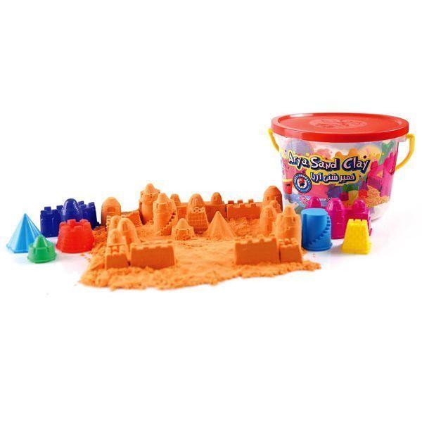 خمیر شنی آریا مدل سطلی با قالب قلعه سازی