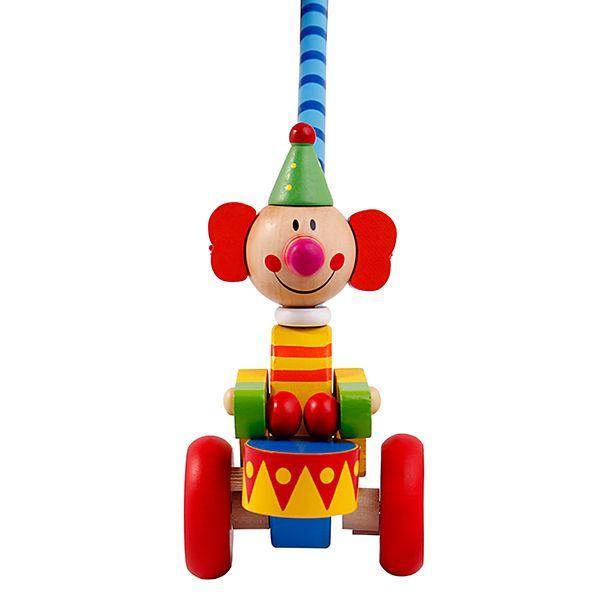 عروسک چوبی چرخ دار پیکاردو - طرح طبل زن