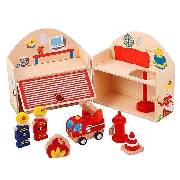 کلبه چوبی پیکاردو - ست آتشنشانی