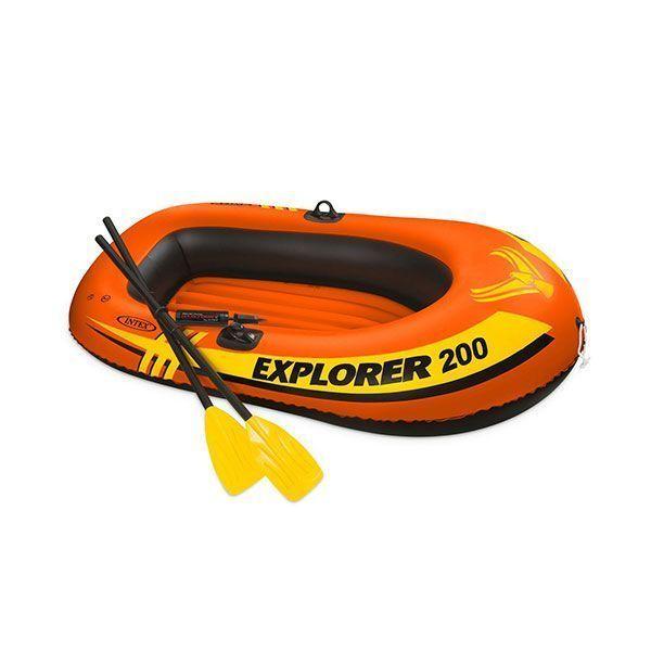 قایق بادی 2 نفره اینتکس Intex مدل Explorer 200
