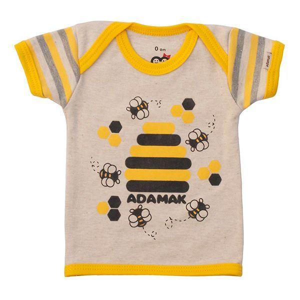 تی شرت اسپرت آستین کوتاه آدمک طرح زنبور