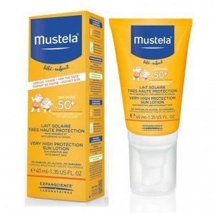 لوسیون ضد آفتاب موستلا با قدرت پوشانندگی بسیار بالا 40 میل