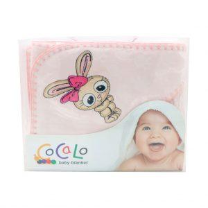 پتو دورپیچ نوزادی کوکالو Cocalo رنگ صورتی