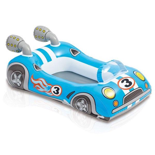 قایق بادی کودک اینتکس Intex مدل ماشین مسابقه