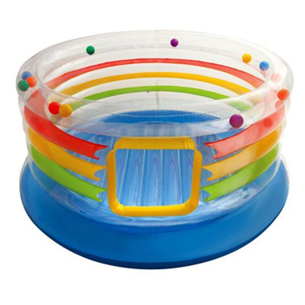 تشک بادی جامپینگ اینتکس Intex با توپ های رنگی