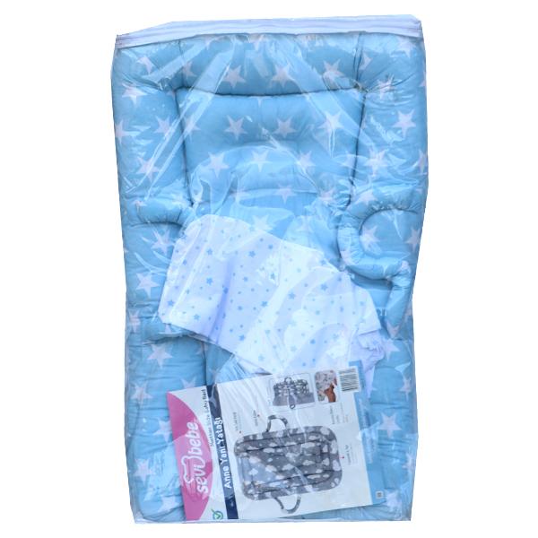 تشک گارد دار نوزاد سوی به به Sevi Bebe-آبی
